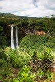 водопады chamarel Стоковое Изображение RF
