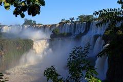 Водопады Iguasu ареальных 5 стоковое изображение rf