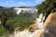 Водопады Iguasu ареальных 2 стоковое изображение rf