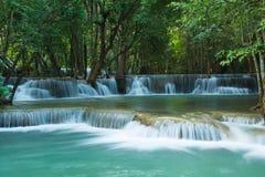 Водопады khamin mae Huay стоковое изображение