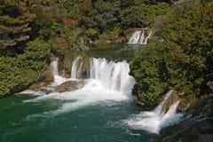 Водопады Krka Стоковое Изображение