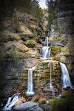Водопады Kuhflucht стоковые изображения