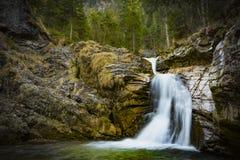 Водопады Kuhflucht стоковое изображение rf