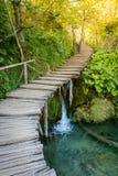 водопады plitvice национального парка озер Хорватии sostavtsy Стоковые Изображения