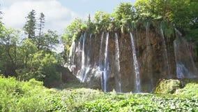 водопады plitvice национального парка озер Хорватии sostavtsy видеоматериал