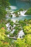Водопады Plitvice Стоковая Фотография