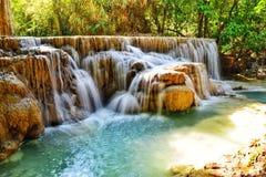 водопады si kuang Стоковая Фотография