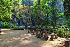 водопады si kuang Стоковые Фотографии RF