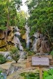 водопады si kuang Стоковое Фото
