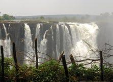 водопады victoria Стоковая Фотография