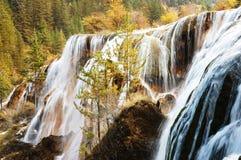 водопад вала осени Стоковые Изображения
