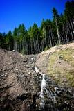 водопад валов st mt helens Стоковая Фотография