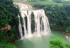 водопад вида с воздуха Стоковое Фото