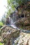 Водопад восходящего потока теплого воздуха Toplita Стоковые Изображения RF