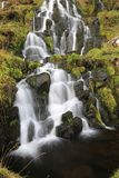 Водопад вуали невест, остров skye Стоковые Фото