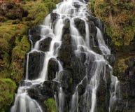 Водопад вуали невест, остров skye Стоковое фото RF