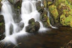 Водопад вуали невест, остров skye Стоковая Фотография RF