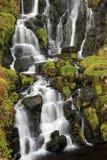 Водопад вуали невест, остров skye Стоковое Изображение RF