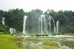 водопад Вьетнама Стоковое Фото