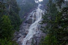 Водопад в Ванкувере, Британской Колумбии Стоковые Изображения RF
