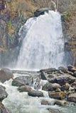 Водопад в горной области Стоковые Изображения RF