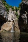 Водопад в каньоне Emen в провинции Veliko Tarnovo стоковые изображения