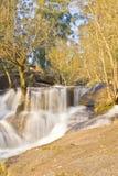Водопад в национальном парке Geres стоковые изображения rf
