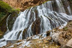 Водопад в Турции Стоковая Фотография