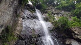 Водопад в makhinjauri Georgia Стоковое фото RF