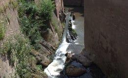 Водопад в saarburg стоковые изображения rf