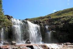 Водопад в sabana Венесуэле gran Стоковое фото RF