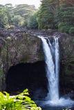 водопад Гавайских островов Стоковое Изображение