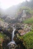 водопад горы Стоковое Изображение