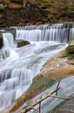водопад горы Стоковая Фотография