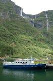 водопад горы Стоковые Фотографии RF