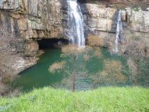 Водопад горы Стоковое Изображение RF