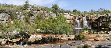 водопад гор cederberg стоковое фото rf
