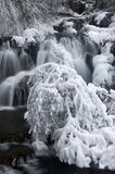 Водопад зимы стоковые фото