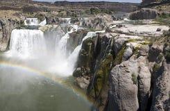 водопад змейки реки стоковые фотографии rf
