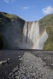водопад Исландии Стоковое Фото