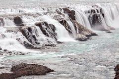 водопад Исландии gullfoss стоковые изображения rf