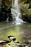 Водопад и света стоковое изображение rf