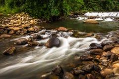 Водопад каскада Стоковые Изображения RF