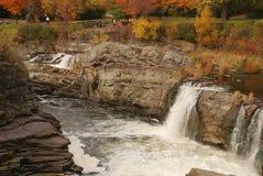 водопад крупного плана Стоковые Изображения RF