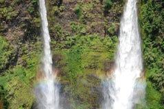 водопад Лаоса Стоковое Фото