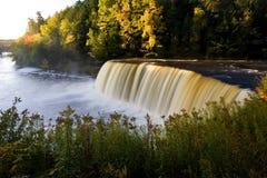 водопад Мичигана осени Стоковые Изображения