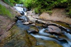 водопад Мичигана Стоковое Изображение