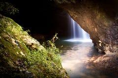 водопад моста естественный Стоковое фото RF