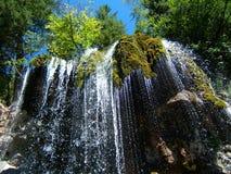 водопад мха стоковые фотографии rf