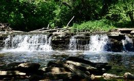 Водопад на водопаде Глене стоковое изображение rf